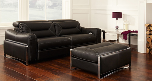 Donu0027t Be Scared At The Thought Of Mixing Both Leather And Fabric Sofas All  In One Space. Mixing Different Fabrics And Textures May Seem Difficult But  If You ...