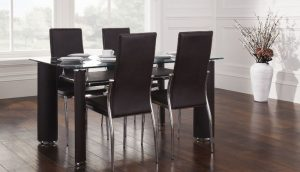 Boston Dining Table & 4 Chairs