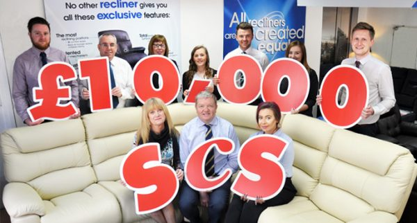 ScS employees celebrate benefitting 100 local good causes across the UK from a £10,000 fund