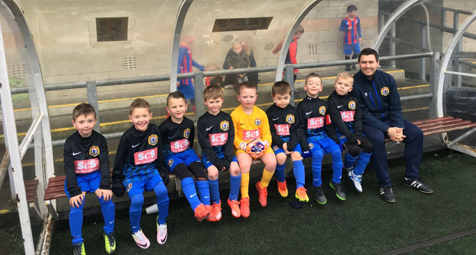 Seaham Coast U7s football