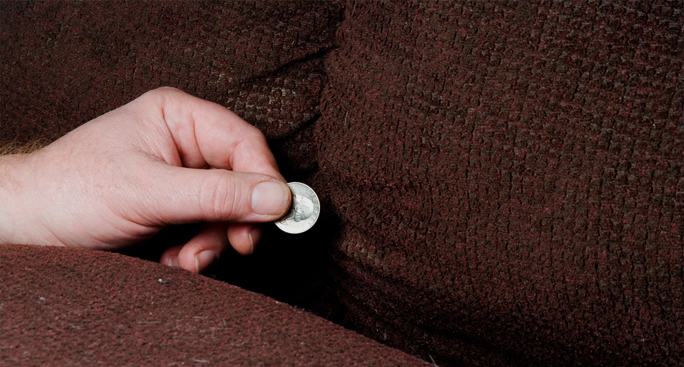 Finding money in your sofa
