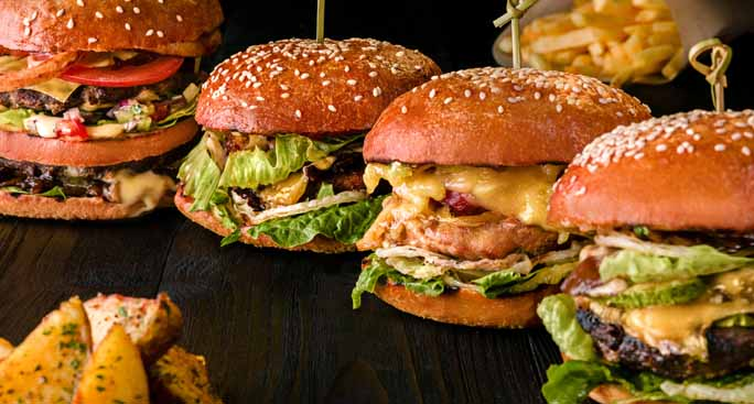 Try our mouth watering, gourmet burger recipes!