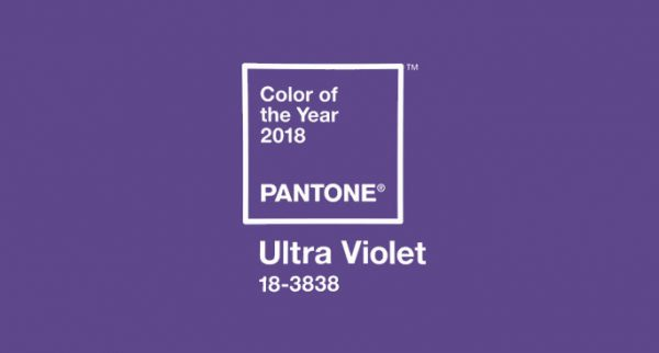 Pantone Colour of the Year 2018 – Ultra violet