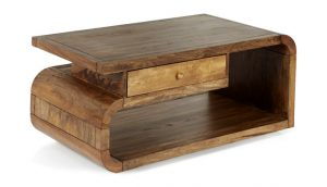 Mango Lounge Coffee Table with Drawer